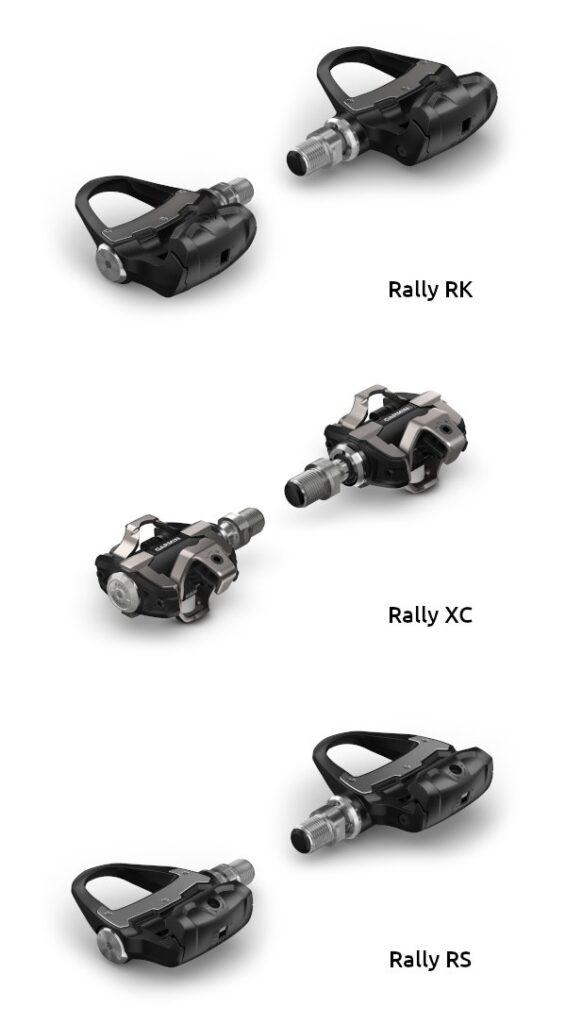 Le tre versioni dei Garmin Rally
